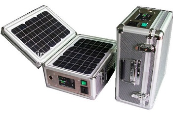 Solar Suitcase Self Contained Portable Solar Power