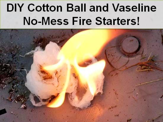 cotton-ball-vaseline-fire-starters