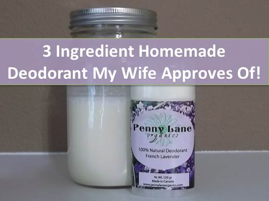how to make my own deodorant