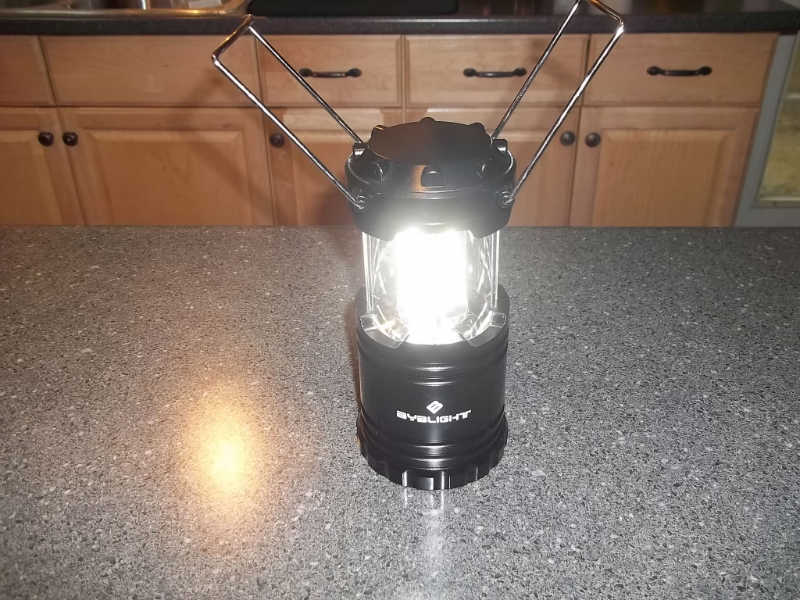 BYB 300 Lumen Collapsible Lantern Review – What a Nice Light!