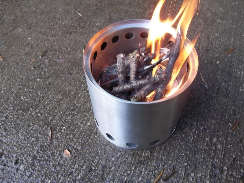 Solo Stove: Perfect for Backpacking, Bug Out, Emergencies