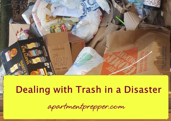 Trash Piles Up After Only Two Days In A Disaster!