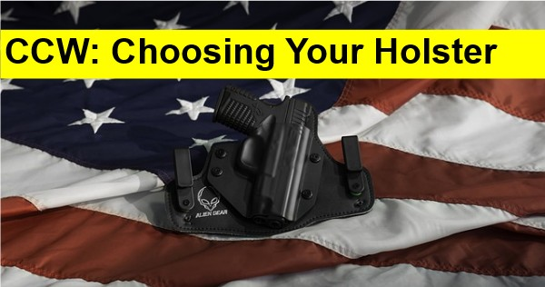 Beginner's Guide To Concealed Carry: Choosing Your Holster