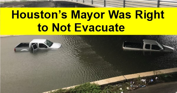 Mayor Right Not To Order Evacuation?