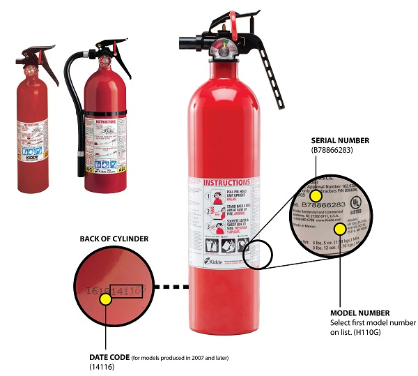PSA: Massive Kidde Fire Extinguisher Recall