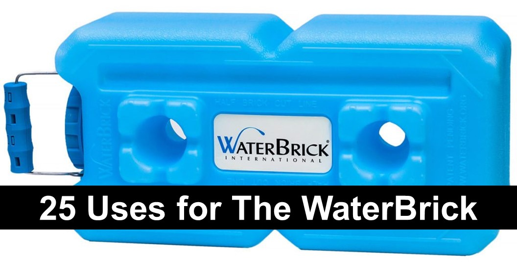 25 Uses for The WaterBrick, Besides Storing Water