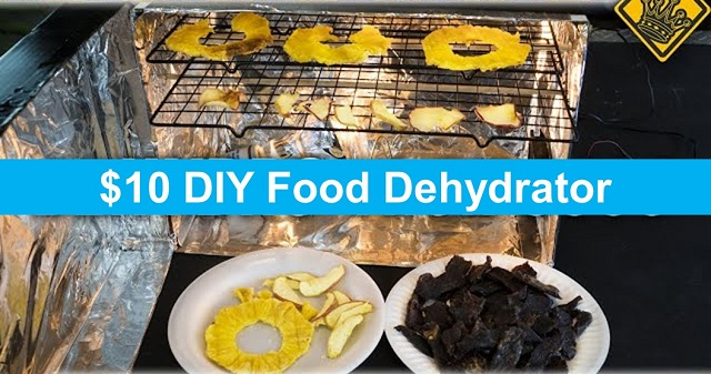 $10 DIY Food Dehydrator