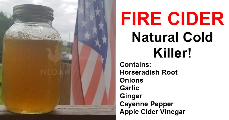 Fire Cider – Natural Cold Killer!