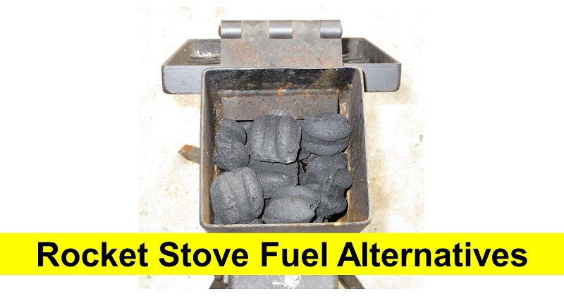 Rocket Stove Fuel Alternatives