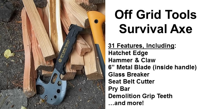 Off Grid Tools Survival Axe Review