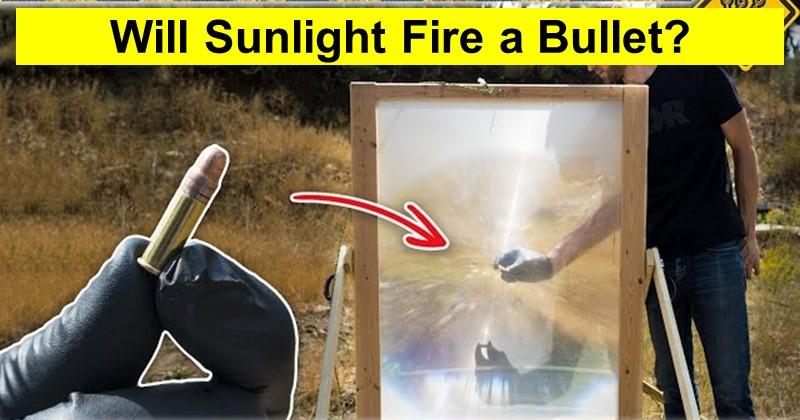 Will Sunlight Fire a Bullet?