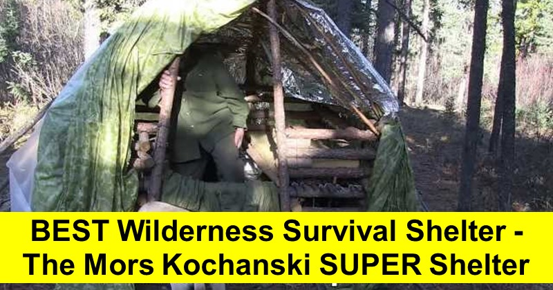 The Mors Kochanski Super Shelter