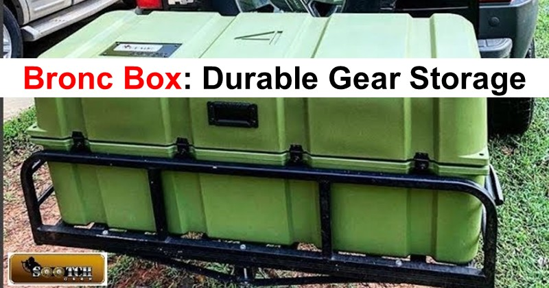 The Bronc Box: Durable Gear Storage