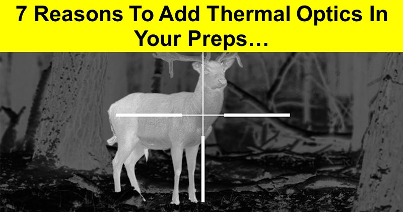 7 Reasons To Add Thermal Optics In Your Preps