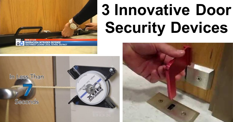3 Innovative Door Security Devices