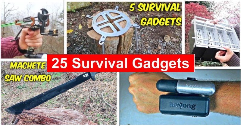 25 Survival Gadgets You're Going to Want!