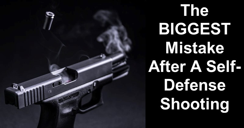 The BIGGEST Mistake After A Self-Defense Shooting