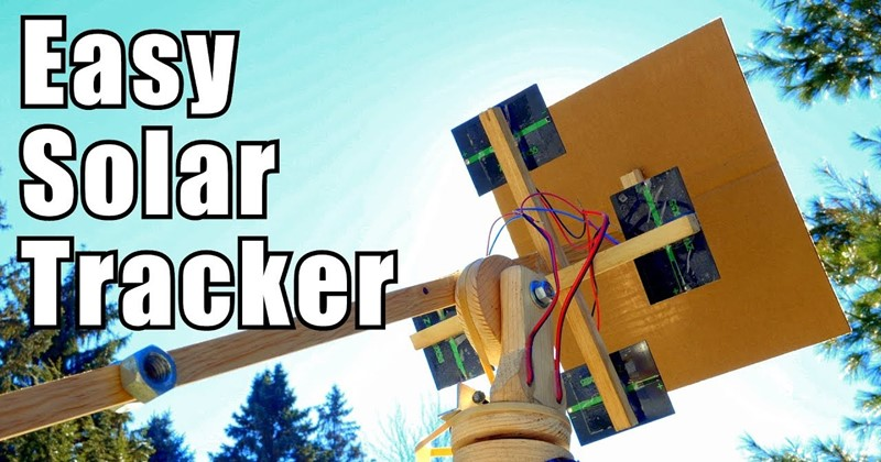 DIY Solar Tracking System Inspired by NASA
