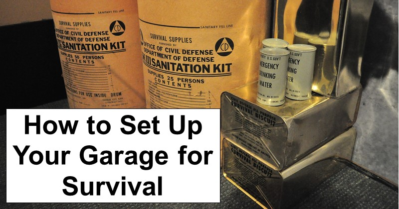 How to Set Up Your Garage for Survival