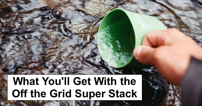 What You'll Get With the Off the Grid Super Stack