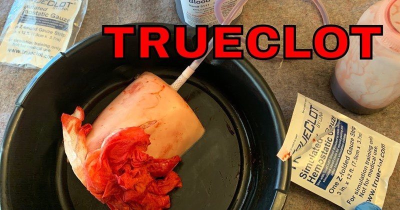 TrueClot Wound Packing Trainer
