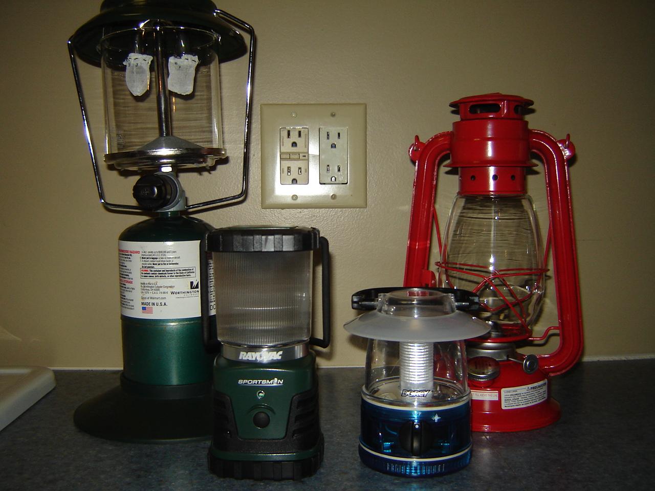 Comparison Of Lanterns Propane Vs Kerosene Vs Battery